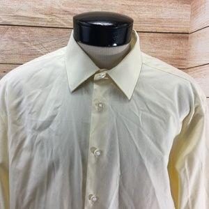 Egara Non-Iron Shirt XL Yellow